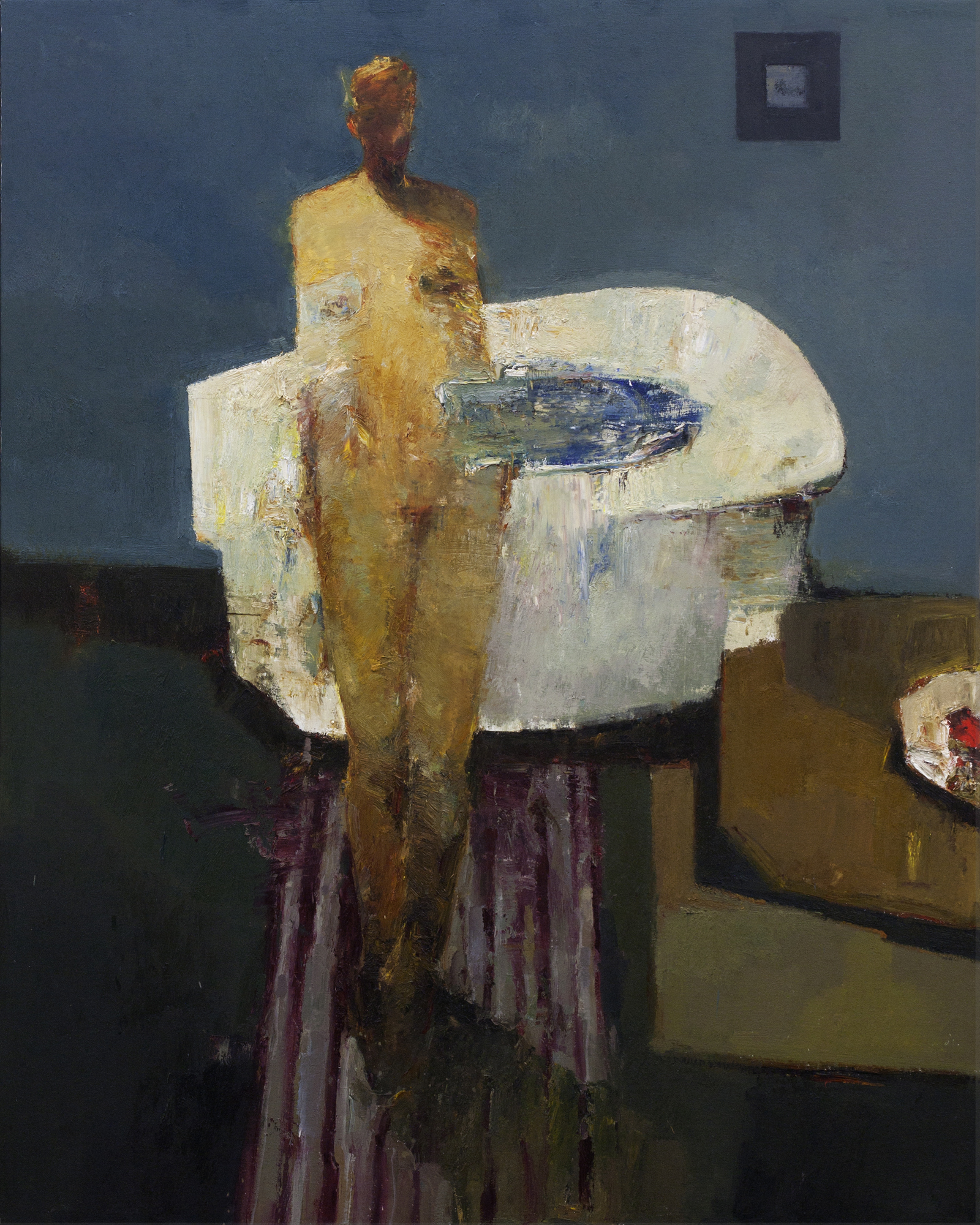 Bather 50x45 in. Oil on Canvas