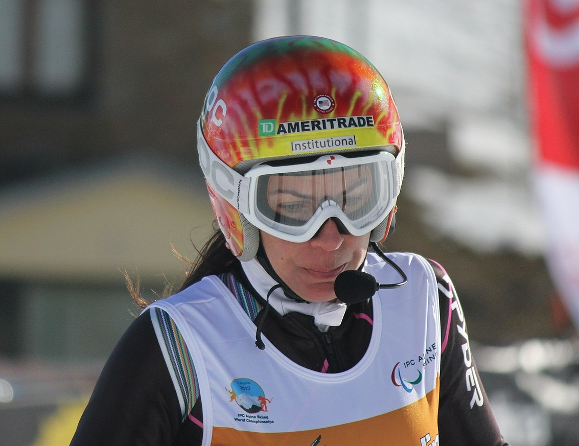 Umstead has won three Bronze medals in alpine skiing in the Paralympic Games