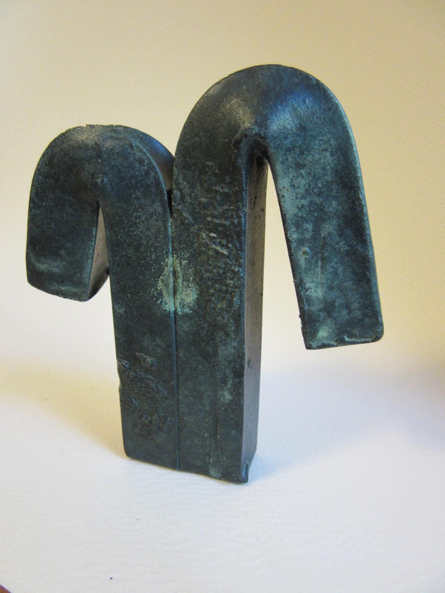 "Untitled , bronze 4.5"" x 4"" NFS"
