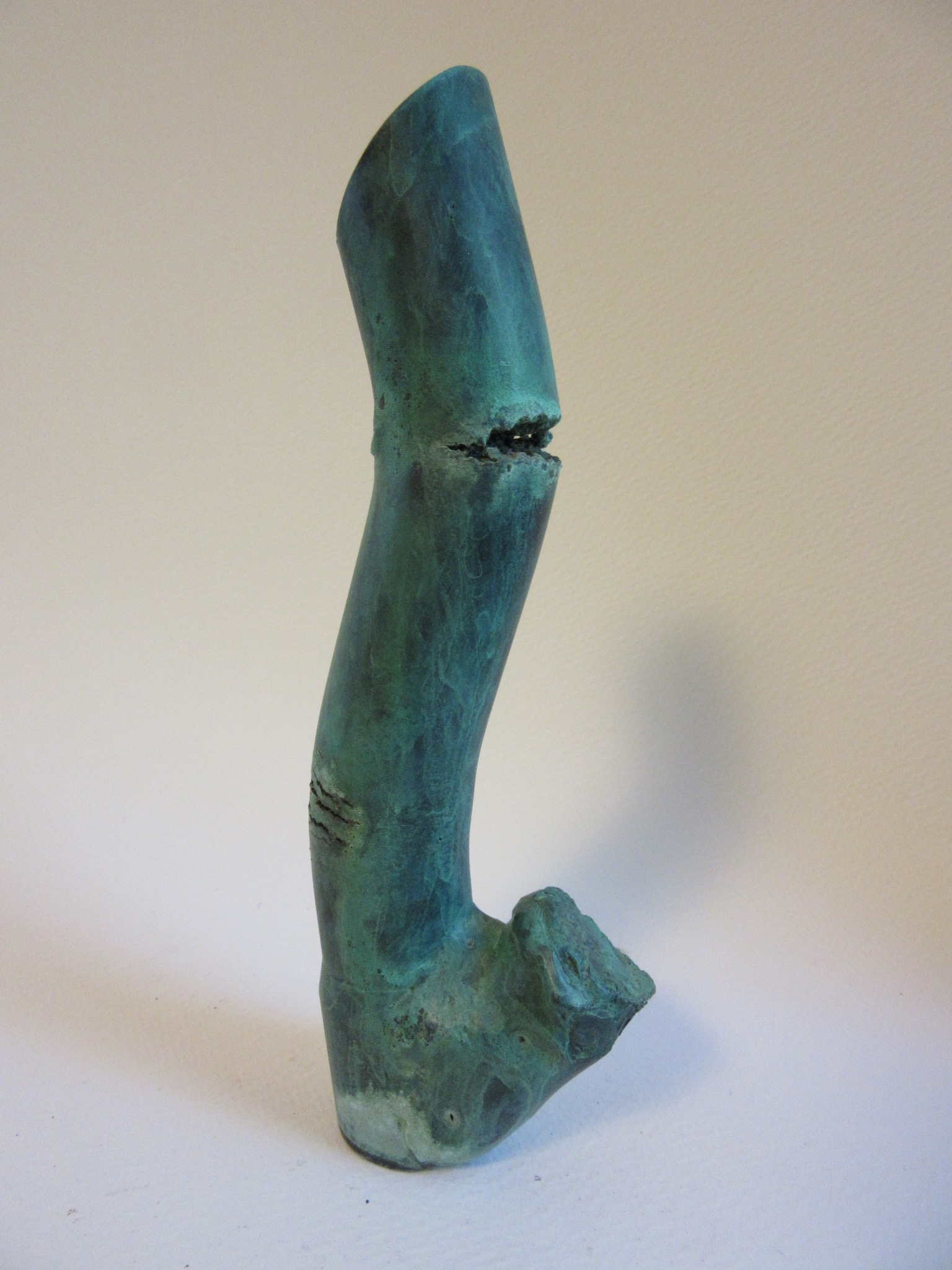"Untitled , bronze 7.25"" x 2.5"" Gifted"