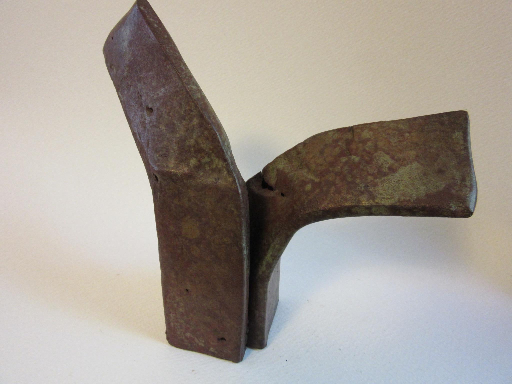 "Untitled , bronze 7"" x 7"""