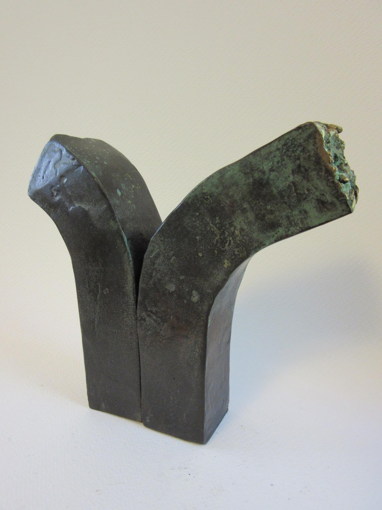 "Untitled , bronze 6.5"" x 6.5"" NFS"