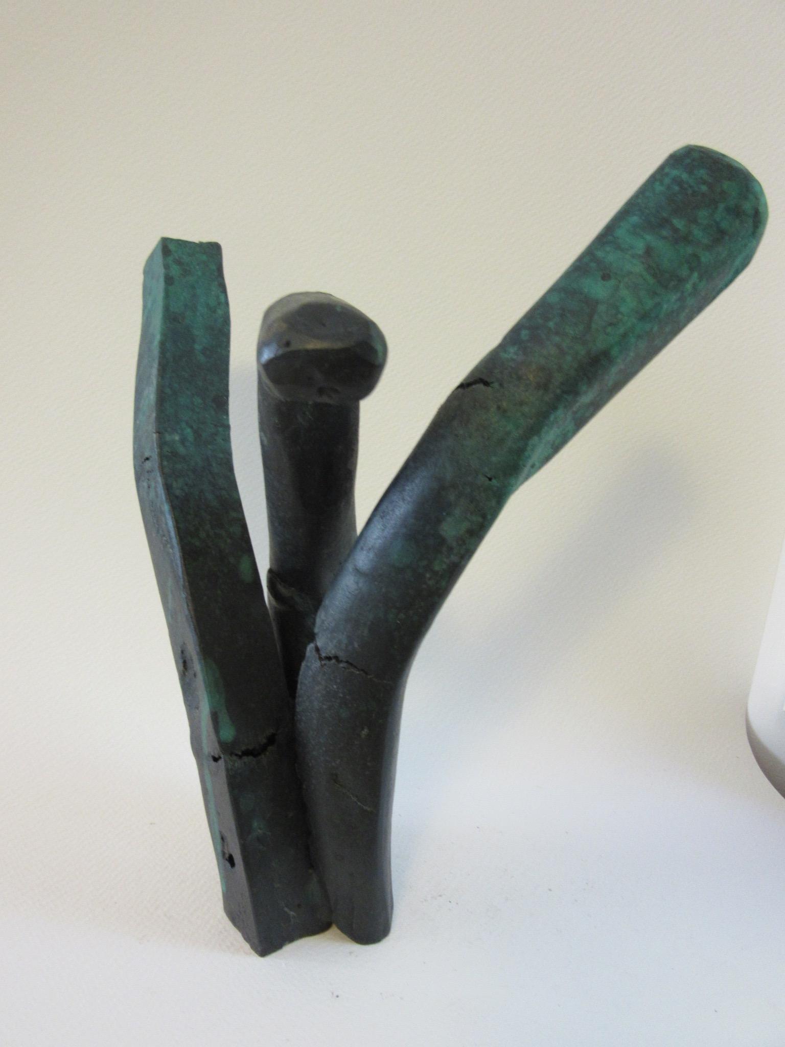 "Untitled , bronze 10"" x 8.5"""