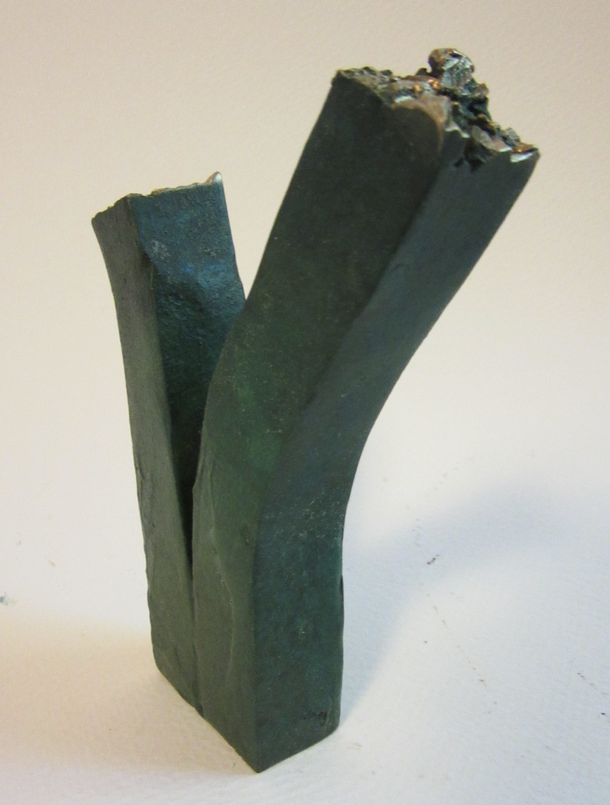 "Untitled , bronze 4.5"" x 1.5"" Gifted"