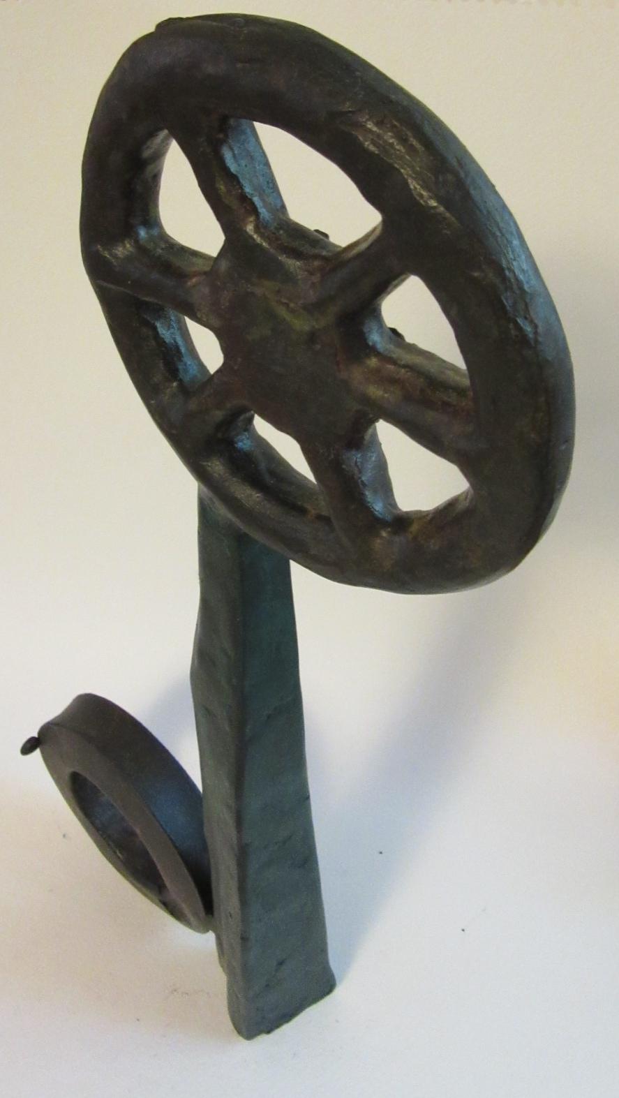 "Untitled , bronze 17"" x 8.5"""