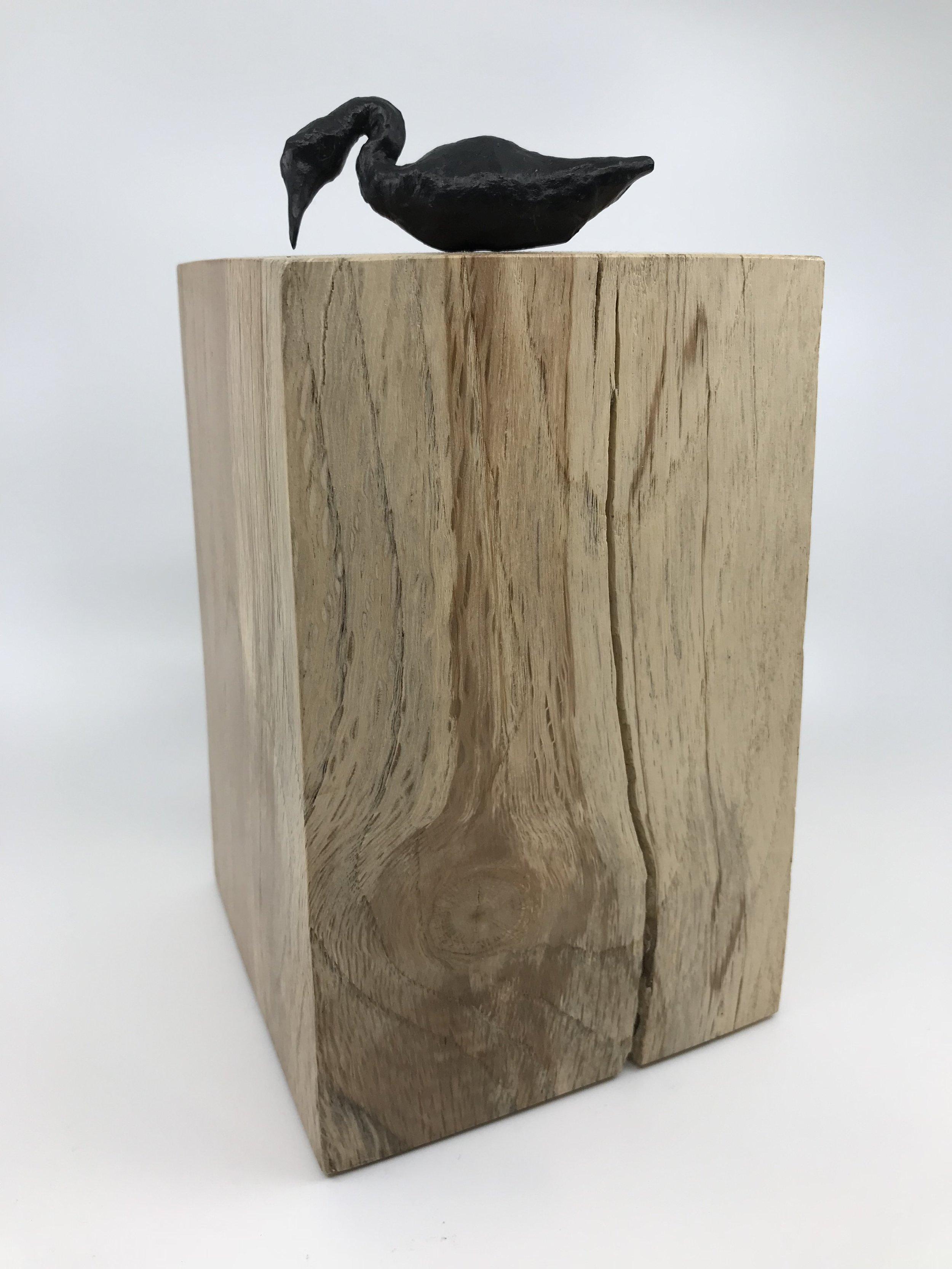 Bird Form 2 on Perch, 2018