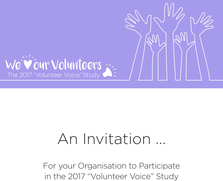 """2017 """"Volunteer Voice"""" Benchmarking Study"""