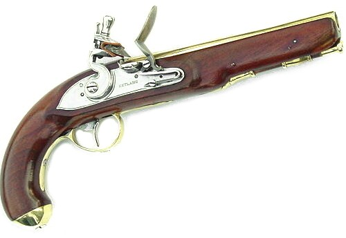 Here is a Ketland Pistol. (Image from  roperld.com )