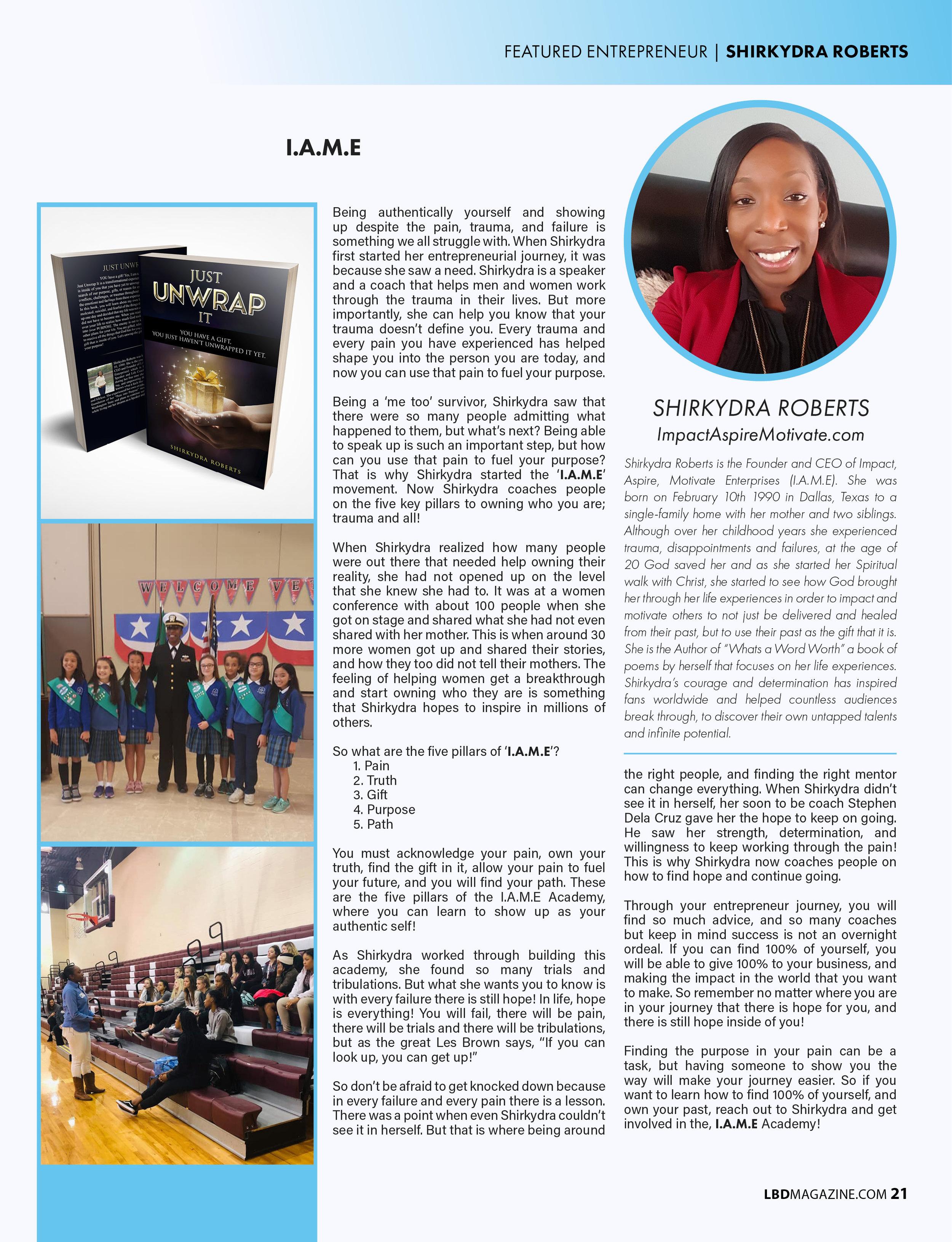 LBD Mag 2019 THRIVE feature shirkydra.jpg