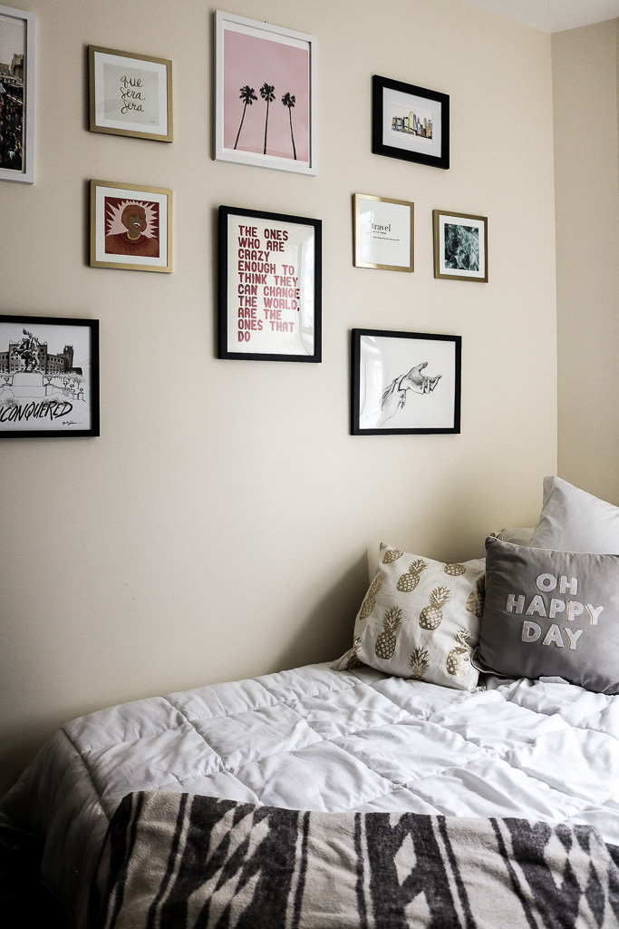 Imagine having to say goodbye to this every morning. All of my illustrations are via friends or www.society6.com.