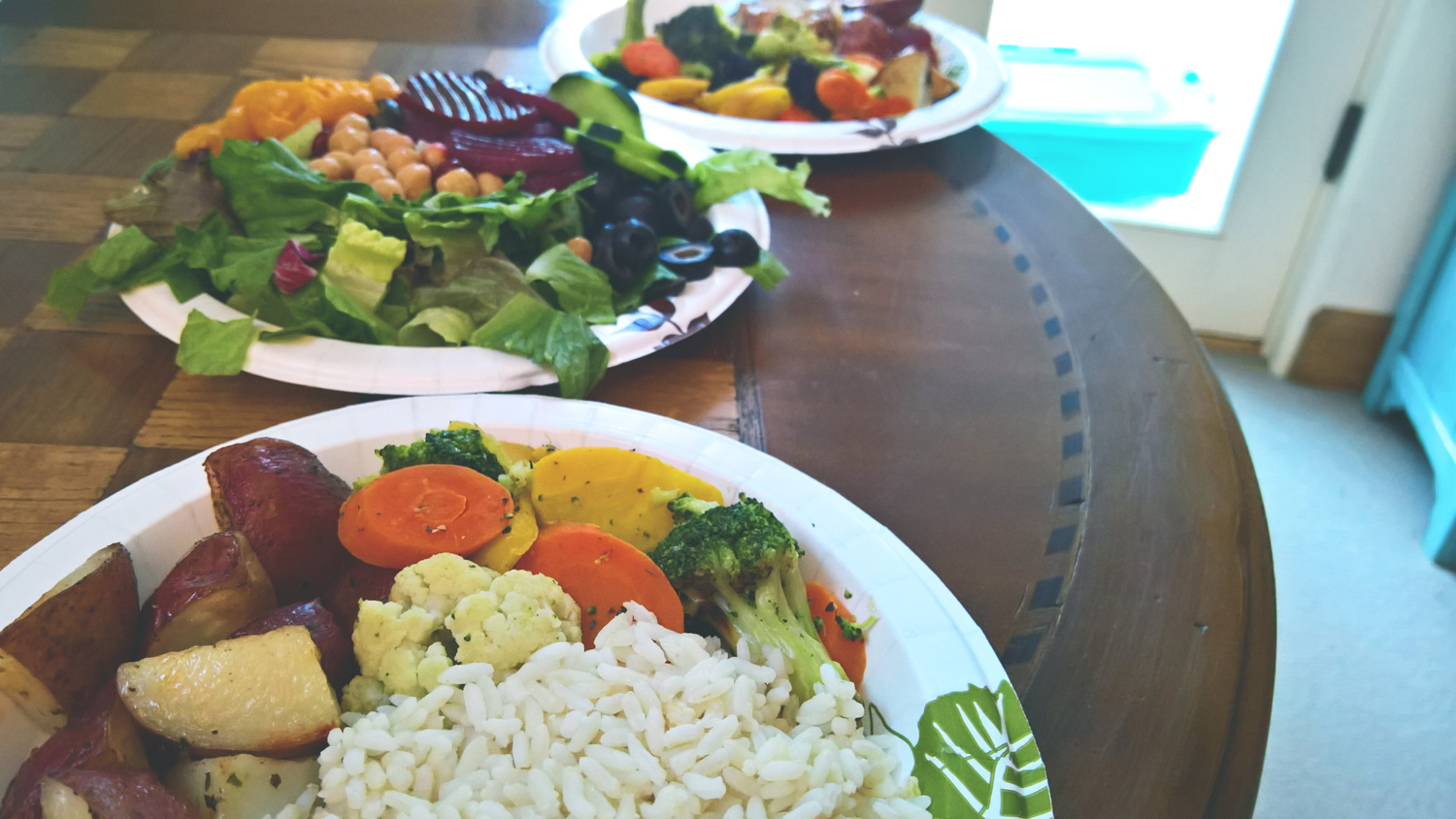 How We're Eating Practically Free Plant-Based Dinners | OMventure.com