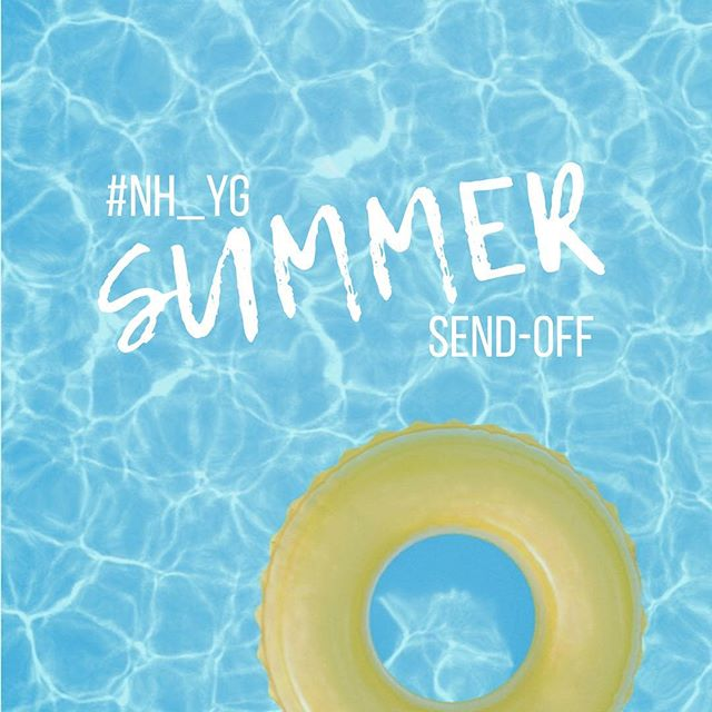 Today's the day! Our annual Summer Send-Off Pool Party! 11am-2pm at the Decker's. Message us if you need the address! See you there 🏊‍♂️ 🏊🏼‍♀️