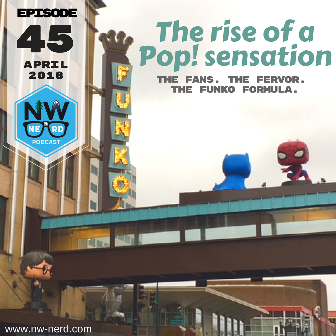 Funko headquarters in Everett, Wash. (Dyer Oxley, NW NERD Podcast)