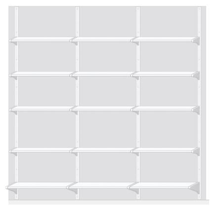 Ikea Algot planner Step 3