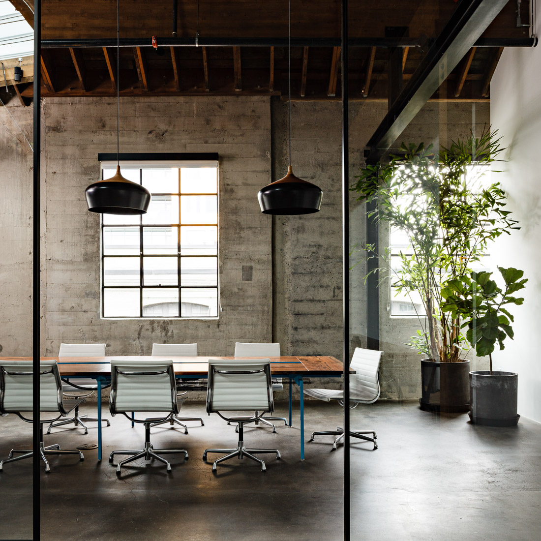 Photo of chairs in a modern setting via  Lincoln Barbour