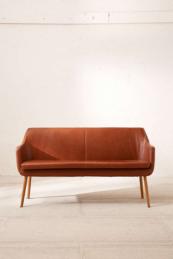 Urban Outfitters Faux Leather Dining Bench.jpeg