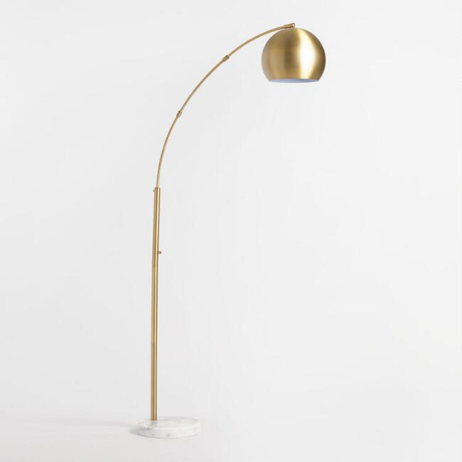 World Market brass arc white lamp.jpg