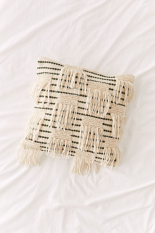 10. Fringe Pillow ($59)
