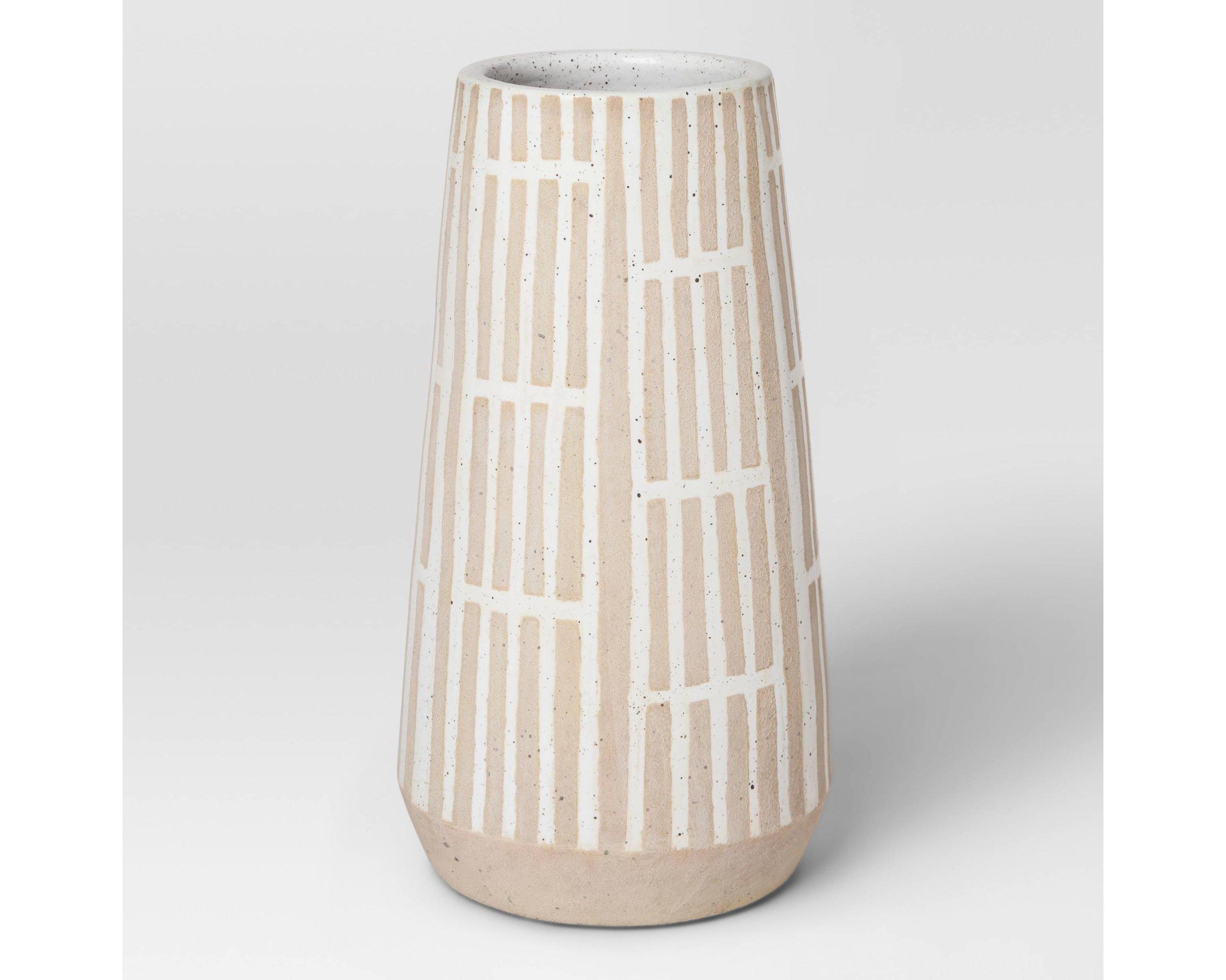 10. Modern Vase ($19)