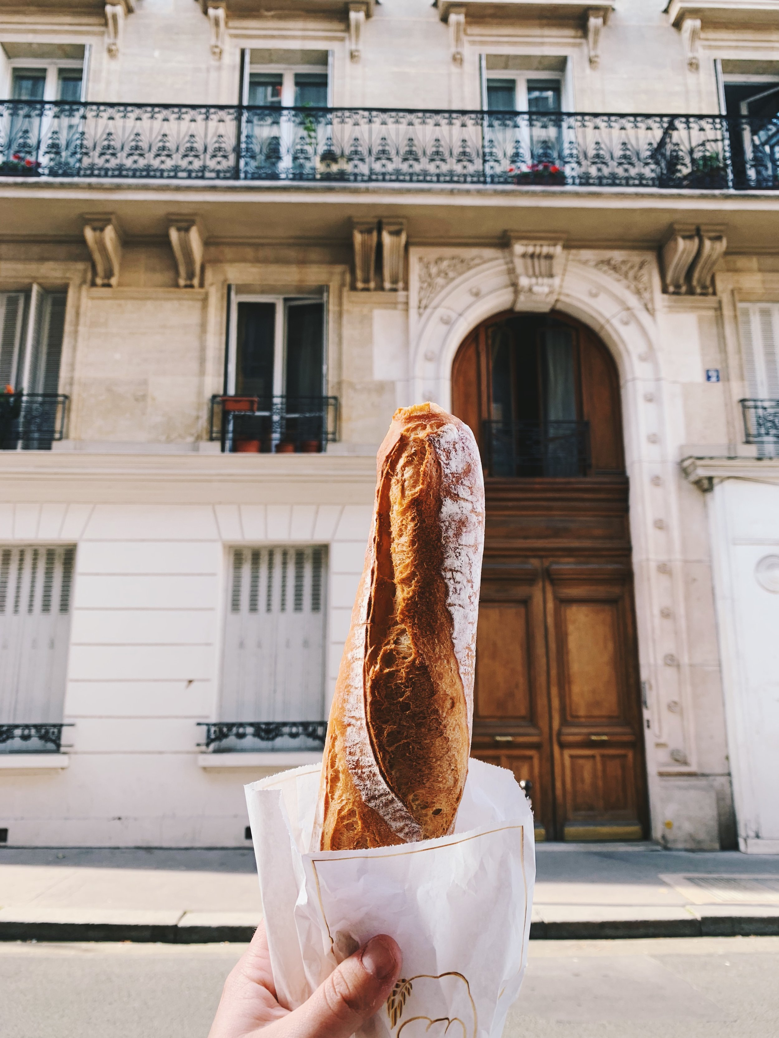 Supposedly the best baguette in Paris at M'Seddi's Boulangerie.