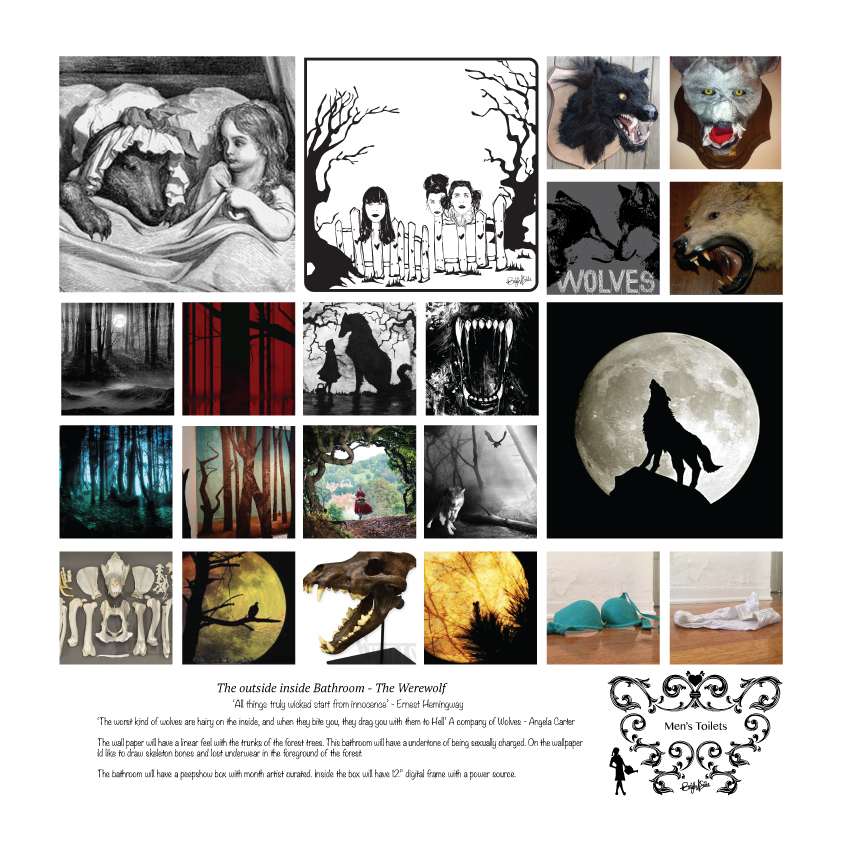Research Board /// Red and the Wolf Within - Male