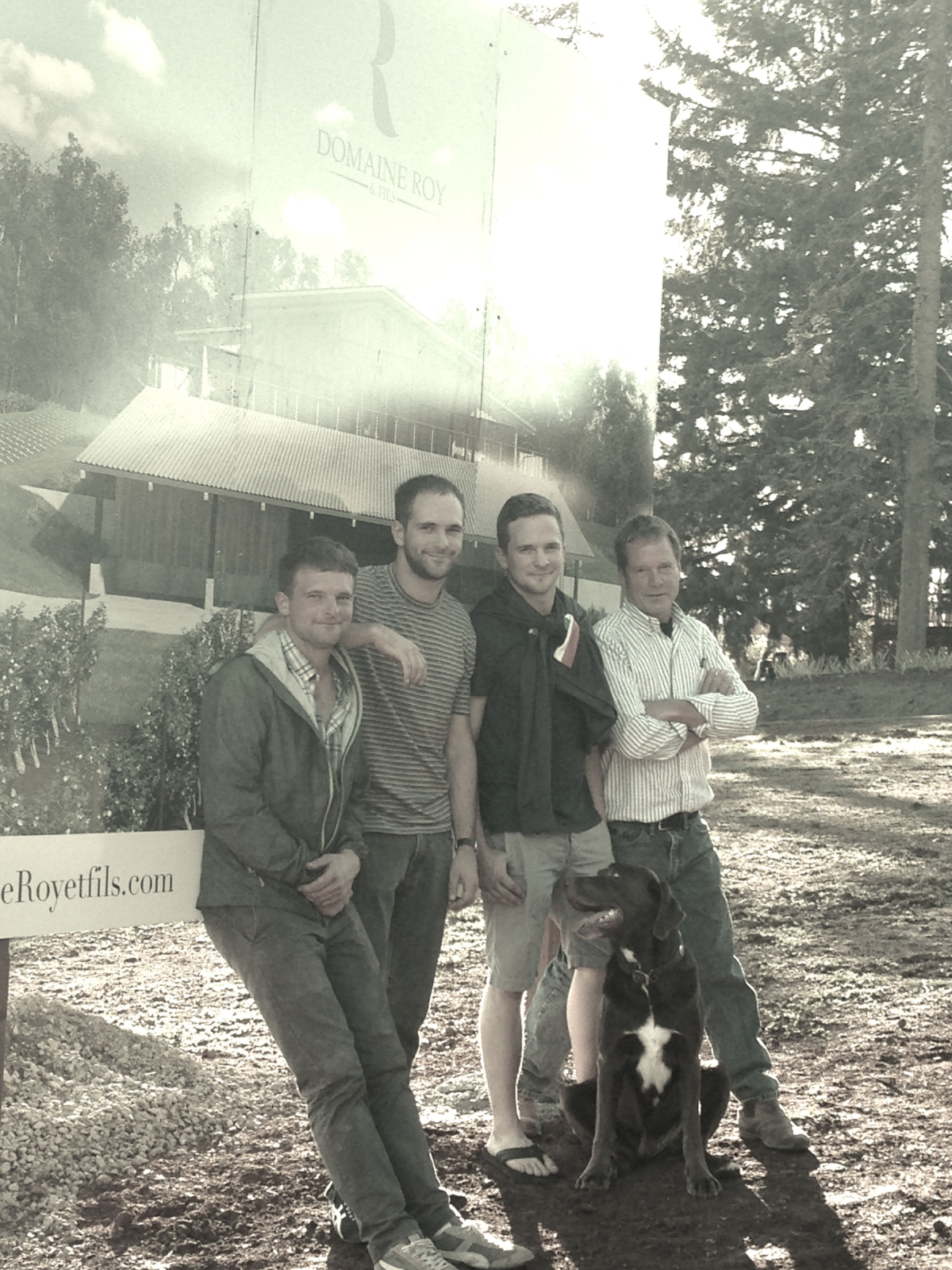 Back Left: Michael, Jr., Jared, Nathan, Michael, Sr. Front: Earl