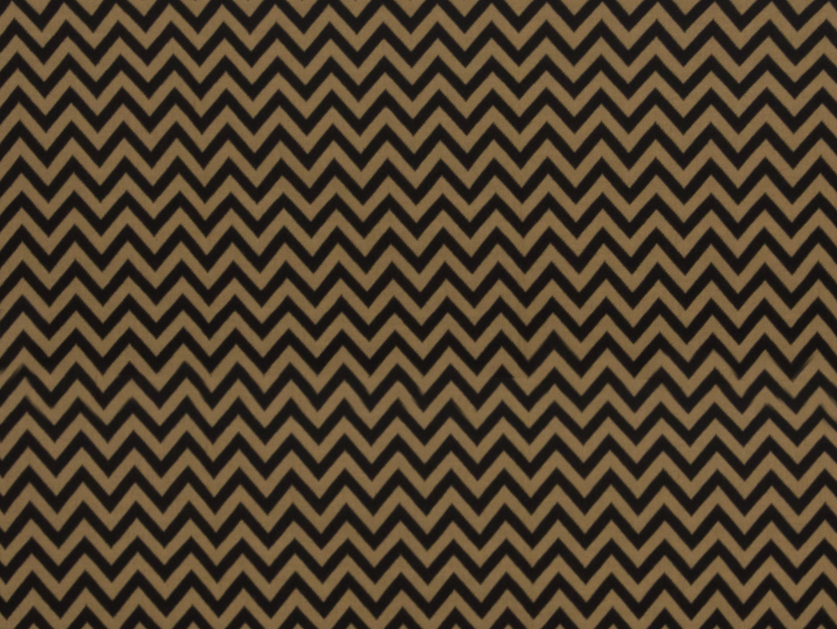 Chevron black/beige
