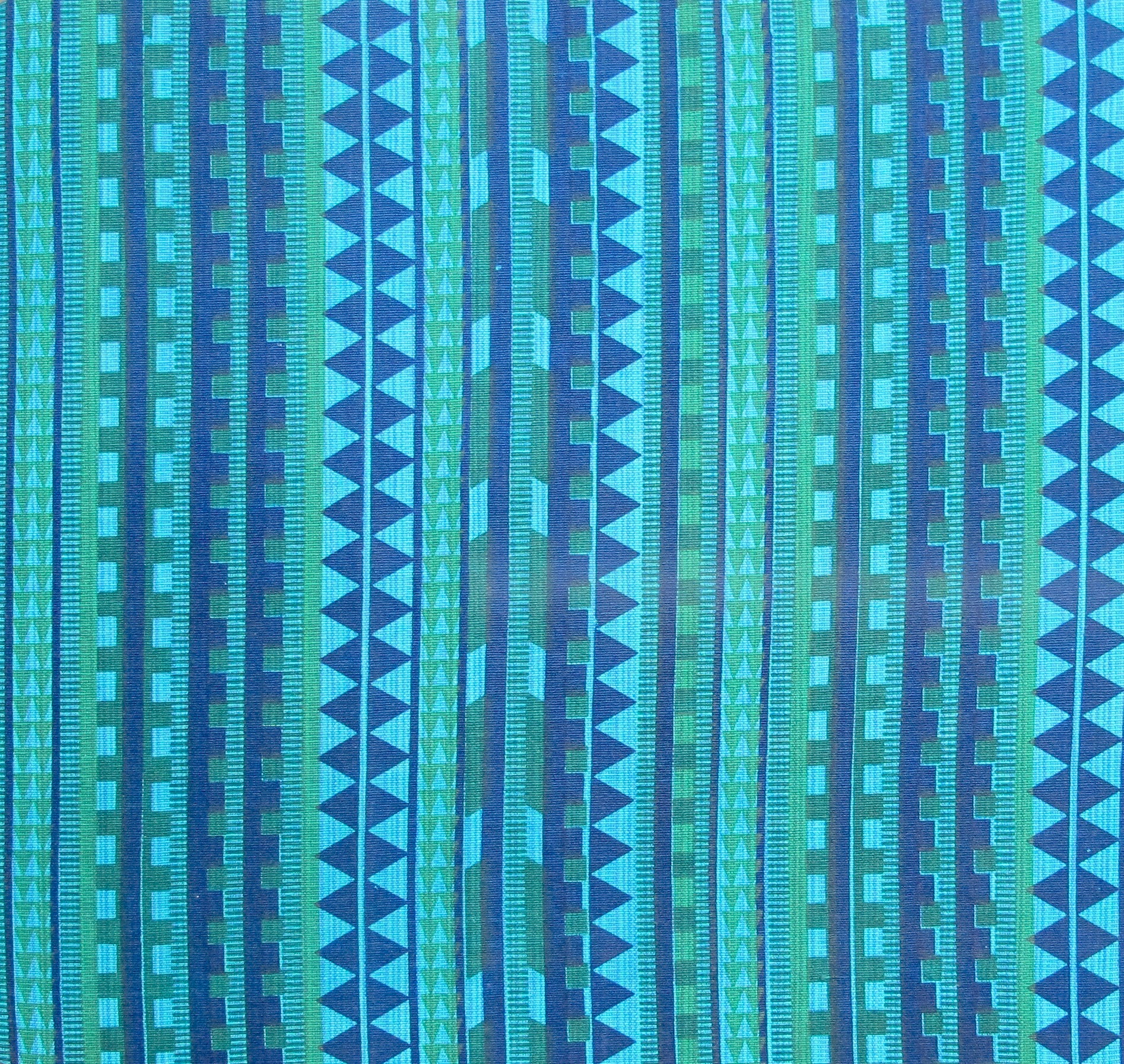 Nagastripes aqua green