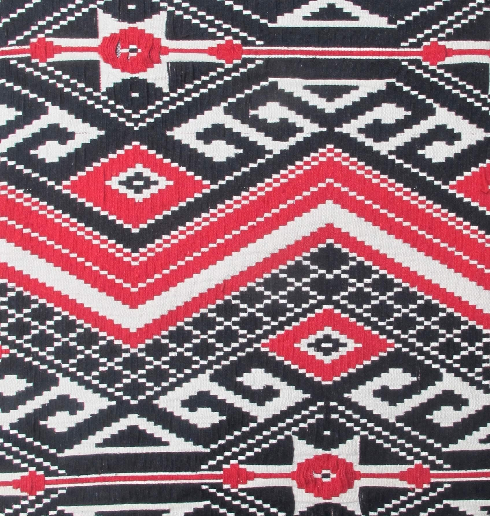 Tribal Aztec red black