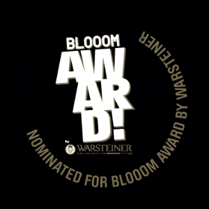 August 2015 - Finalist in BLOOOM AWARD BY WARSTEINER.