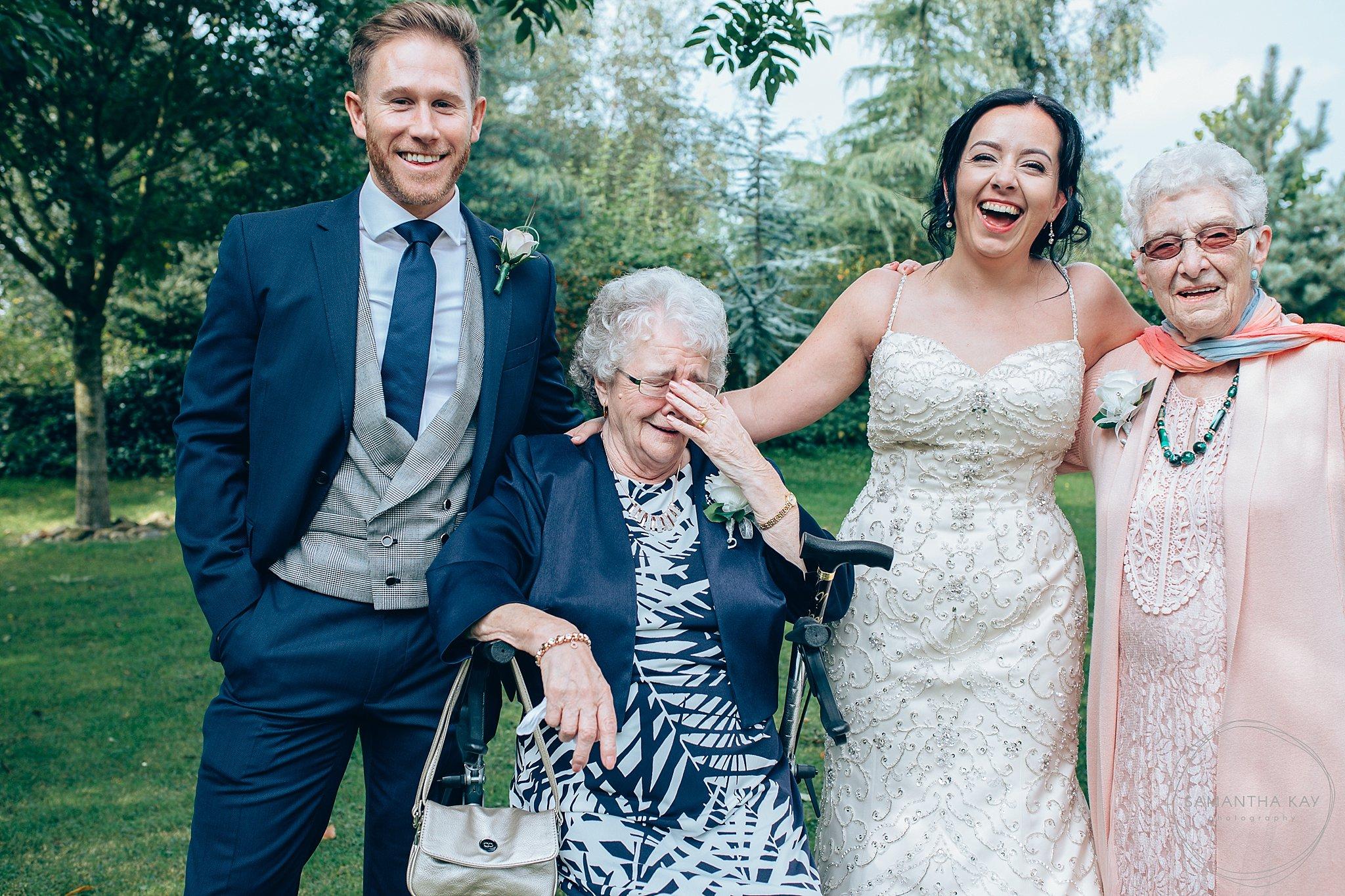 Grosvenor Pulford wedding