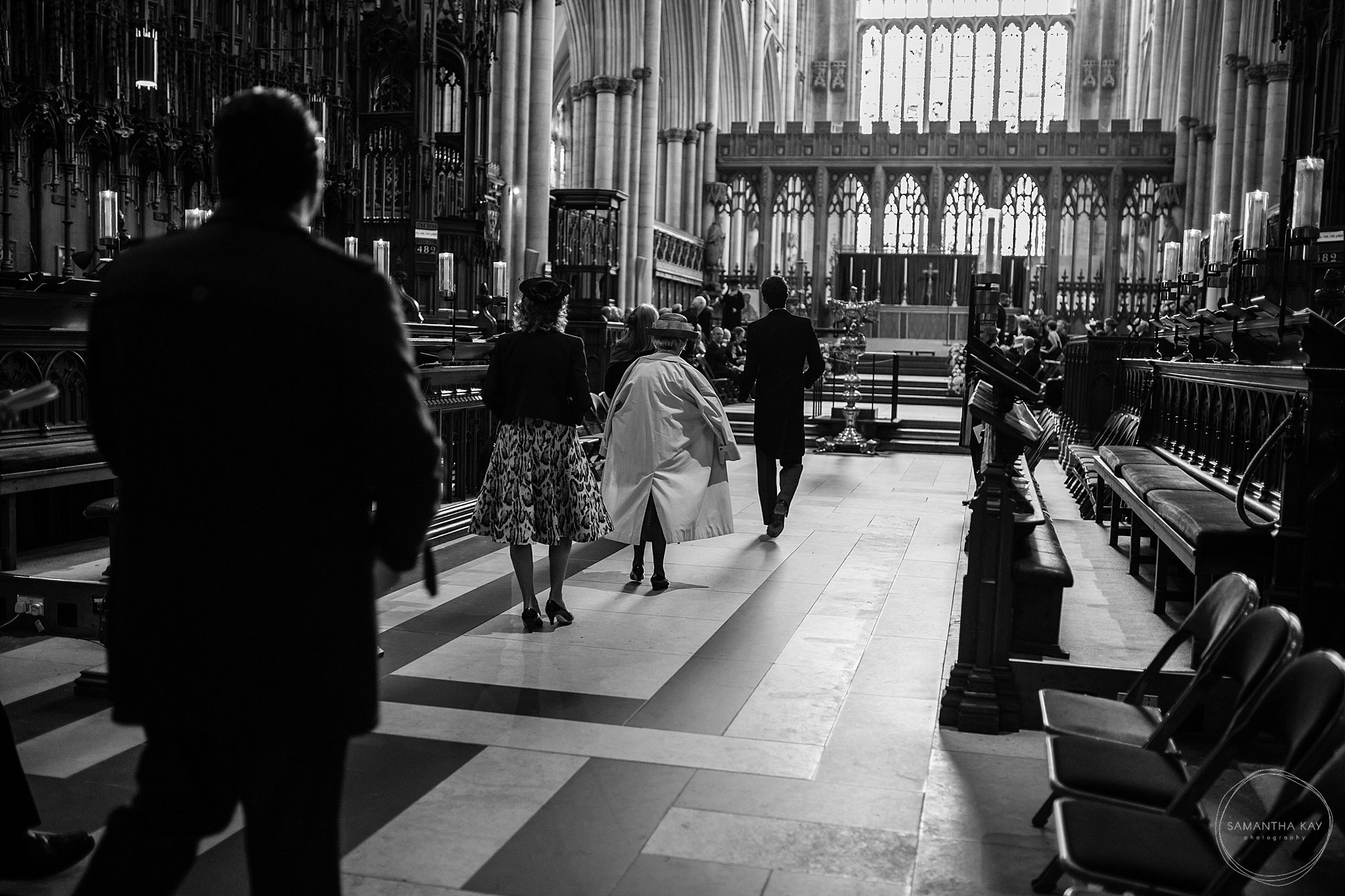 York Minster wedding
