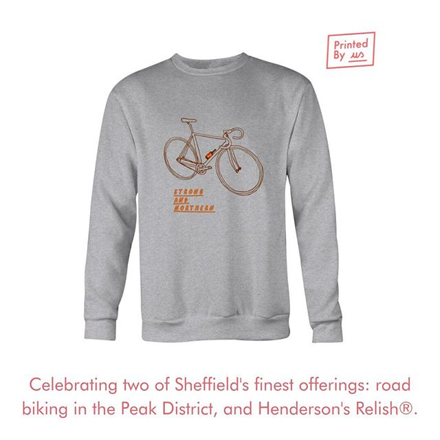 Did you know we only work with 100% FairTrade cotton?  Our Strong & Northern sweatshirt is part of our S&N Collection made by the great Rich Wells in collaboration with Henderson Relish  #sheffield #sheffieldissuper #fairtrade #ethical  #clothing #enviromentallyfriendly #theoutdoorcity