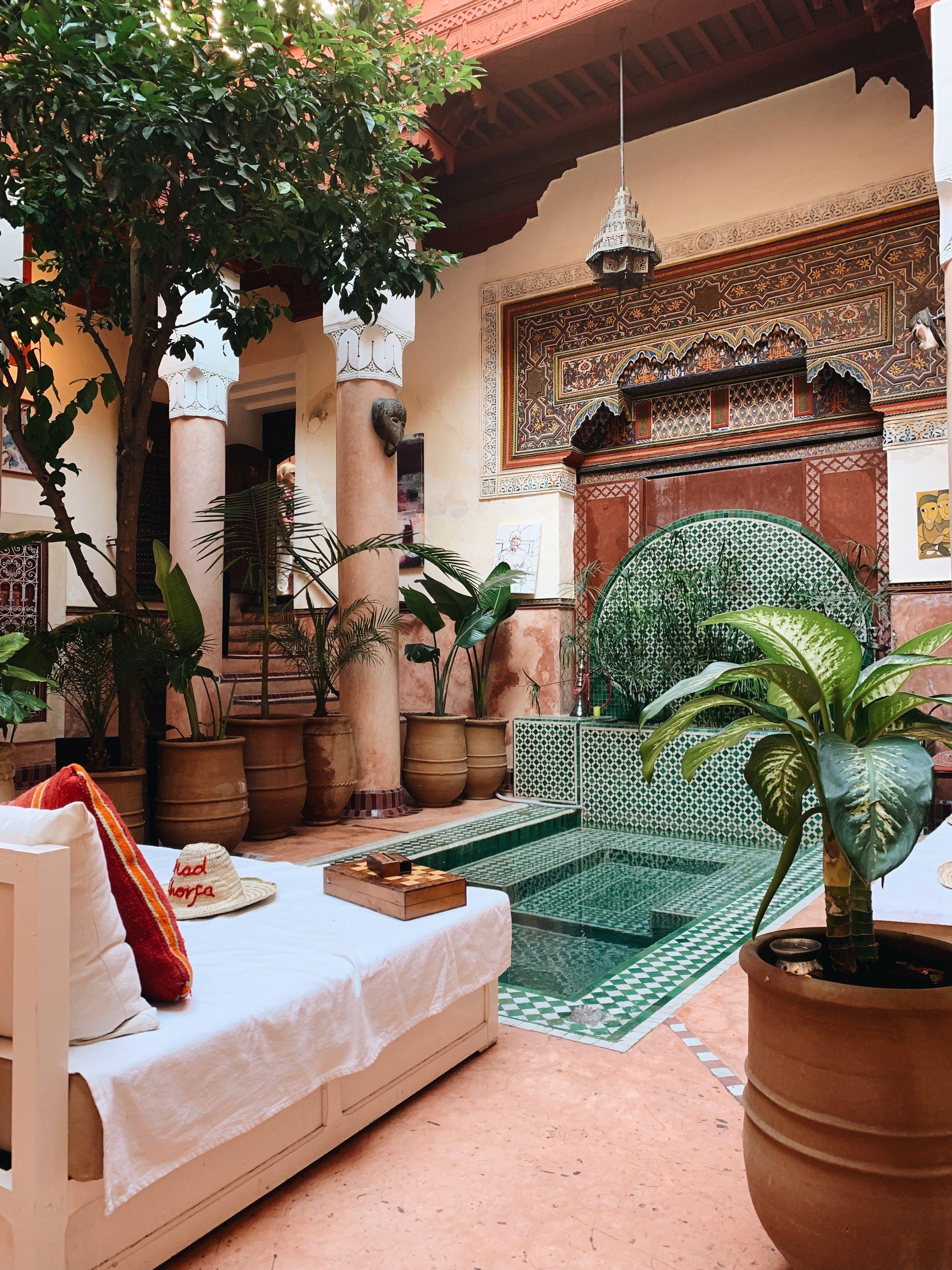 Riard Chorfa - un sitio centrico dentro de la Medina, para conoer lo más áutentico de Marrakech