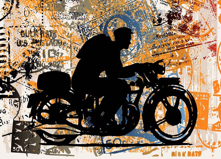 Crossing borders on two wheels requires some primo-quality motorcycle denim.