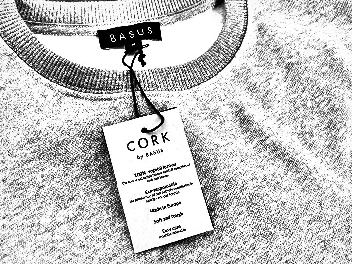 The tag should provide all the info on the construction of the garment.