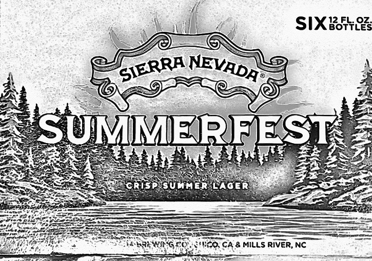 Sierra Neveda Summerfest is a fine example of a craft summer beer done right.