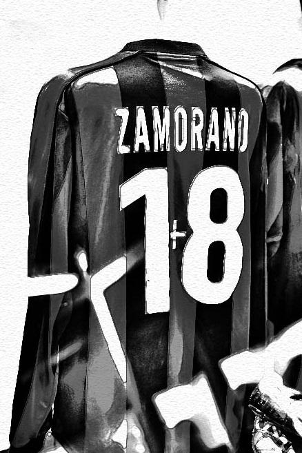 Vintage Iván Zamorano jersey. A top striker who really wanted the #9.