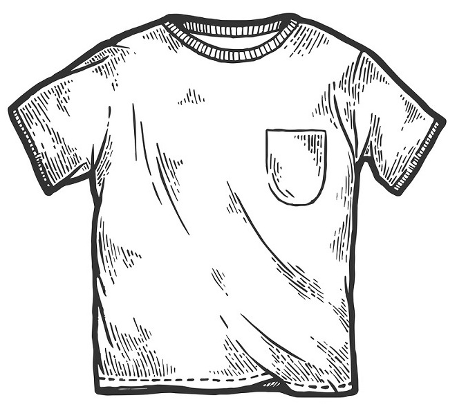 A simple approach to create a well-made t-shirt.