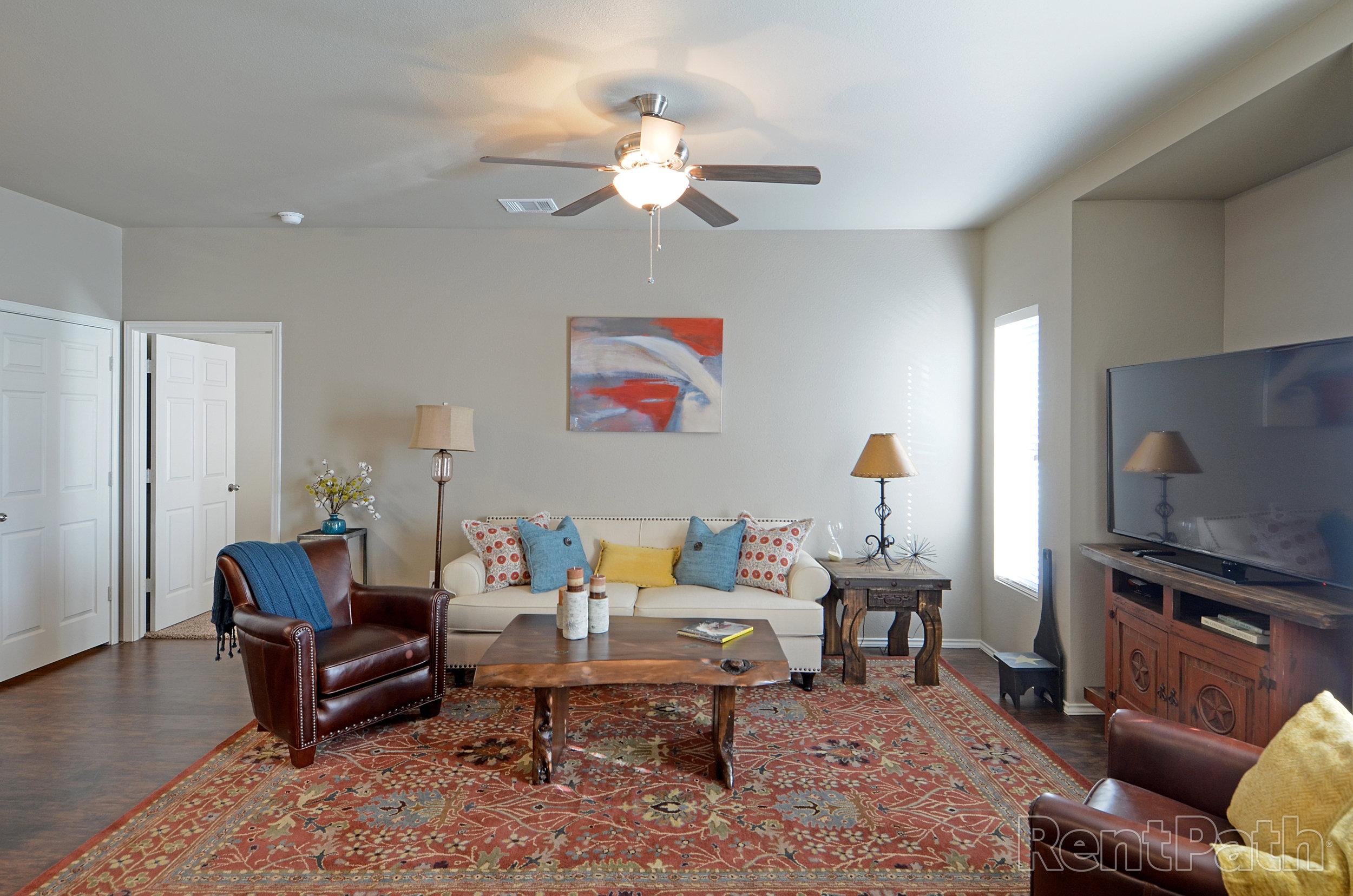 Stallion Floor Plan - Living Room