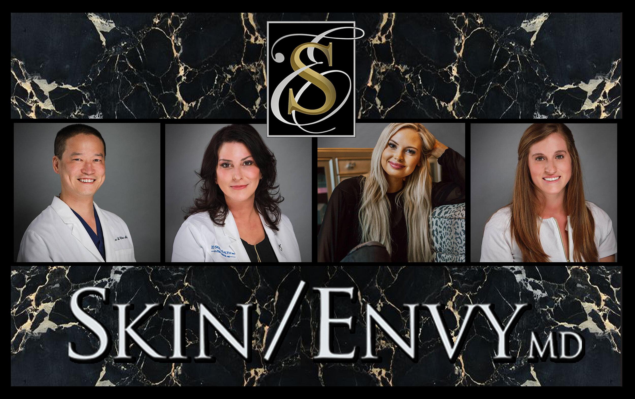 Skin/Envy MD - we are: Dr. Robert Chen, Jennifer Misuraca, RN, McKenzie Burris, LE & Lizzy Wester