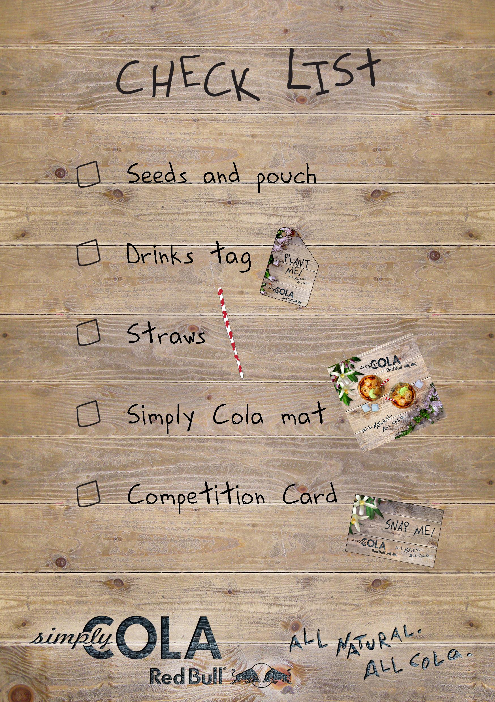 Simply Serve checklist