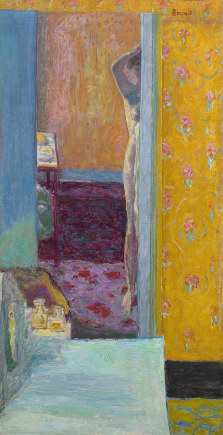 Nude in an Interior, 1935 by Pierre Bonnard.