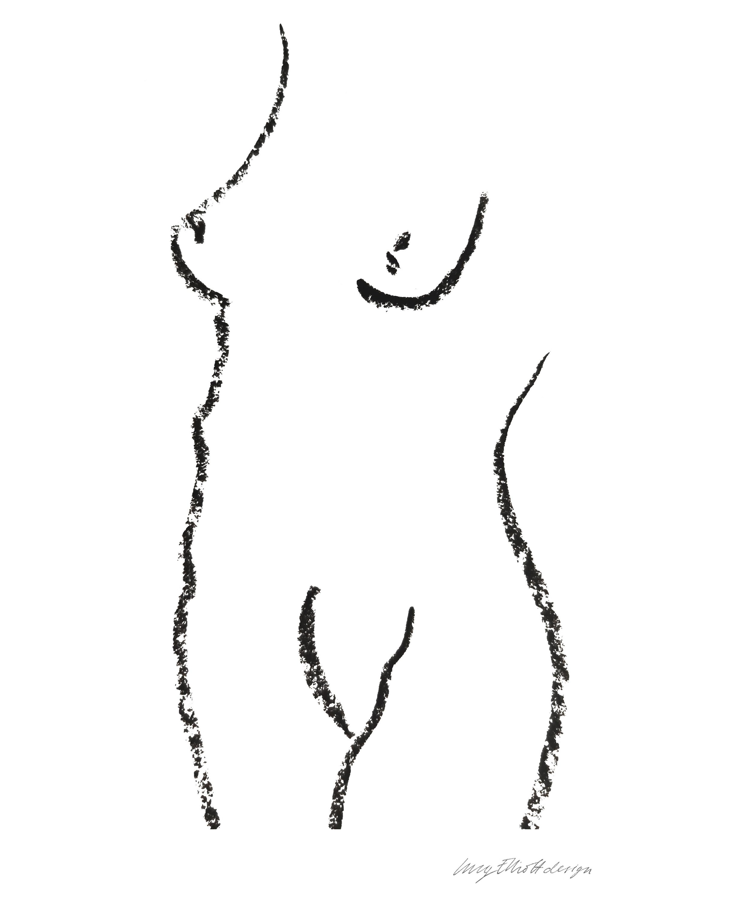 Nude Illustration