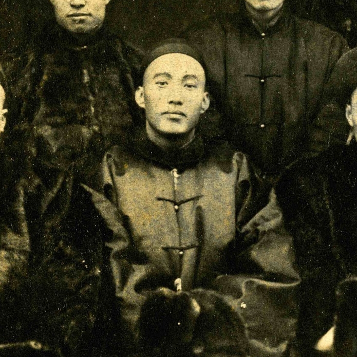 KY Kwong in reunion photograph of the CEM students in China, 1890. Thomas E. LaFargue Papers, 1873-1946, 2-1-4, courtesy MASC, Washington State University Libraries.