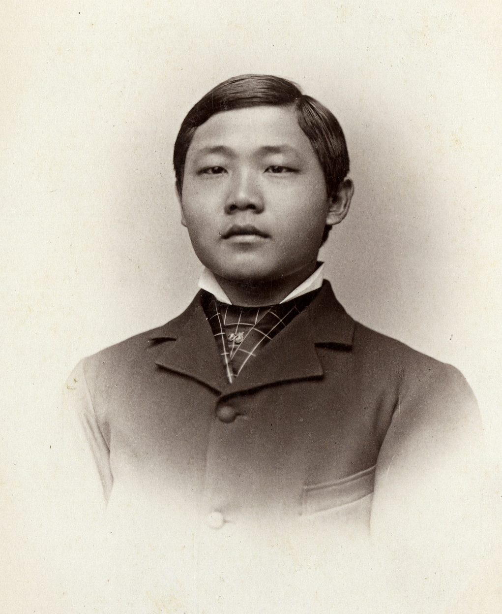 Photograph of YC Kwong, ca. 1878,courtesy of Williston Northampton School Archives.