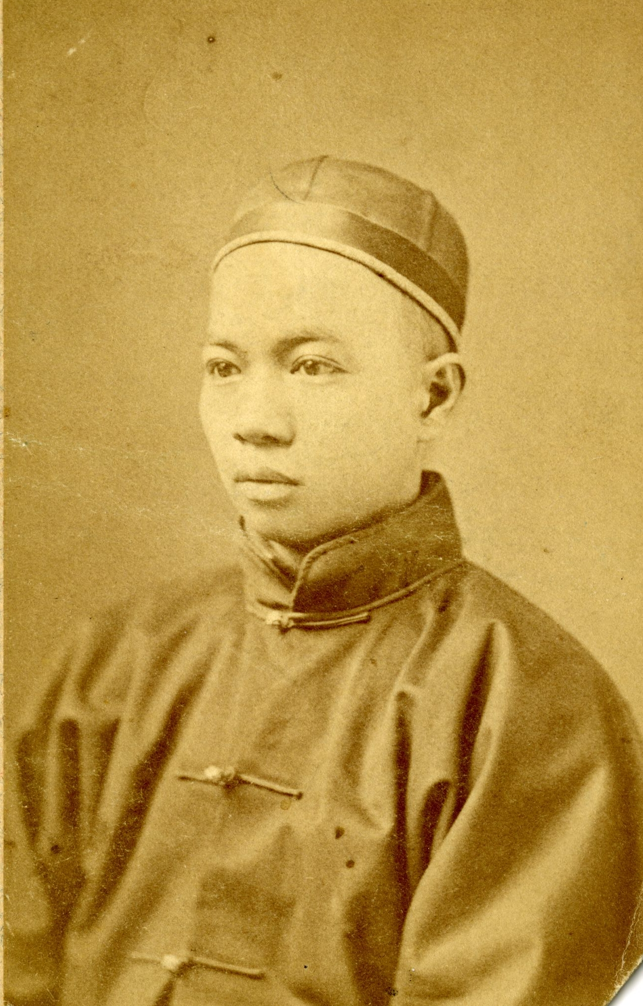 Tyng Se Chung, ca. 1876.   2-2-20. Thomas E. LaFargue Papers, 1873-1946, courtesy Manuscripts, Archives, and Special Collections (MASC), Washington State University Libraries.