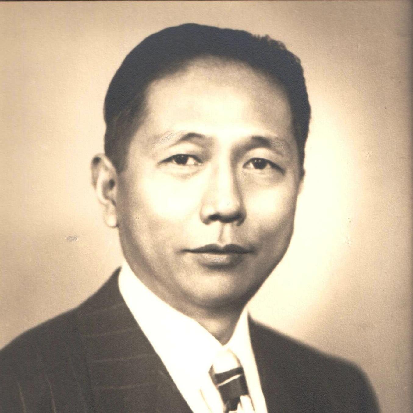 Z. Z. Li portrait, ca. 1950. Courtesy Lillian Li.