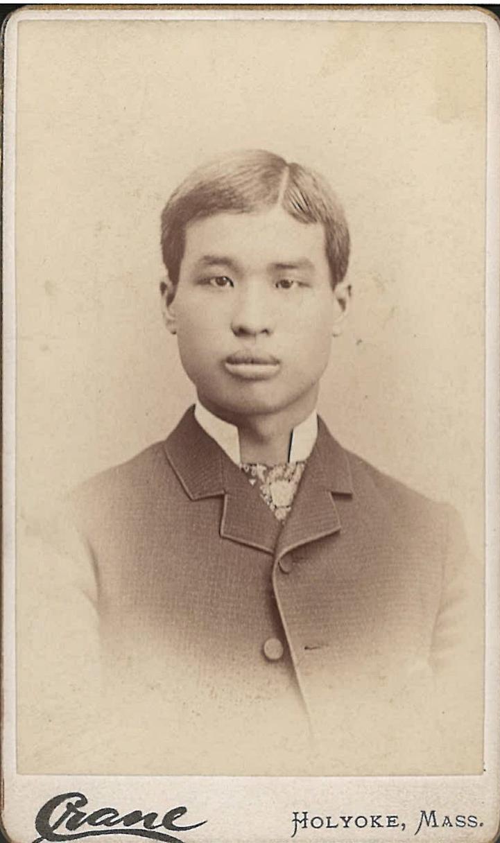 Yau Foke Sik, ca. 1880. Courtesy of Holyoke History Room, Holyoke Public Library.