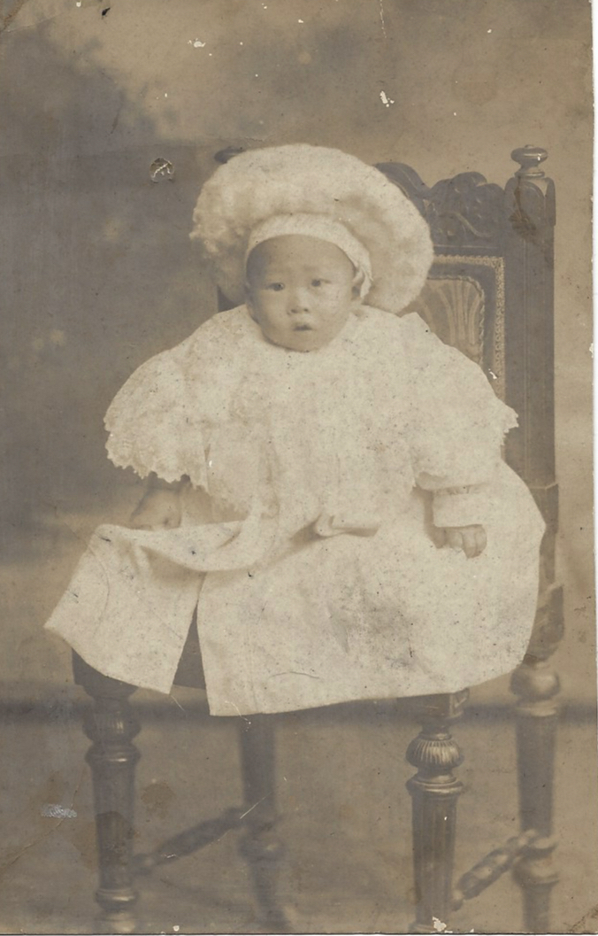 CH Lam as a baby, ca. 1908. Courtesy Shona Lam.